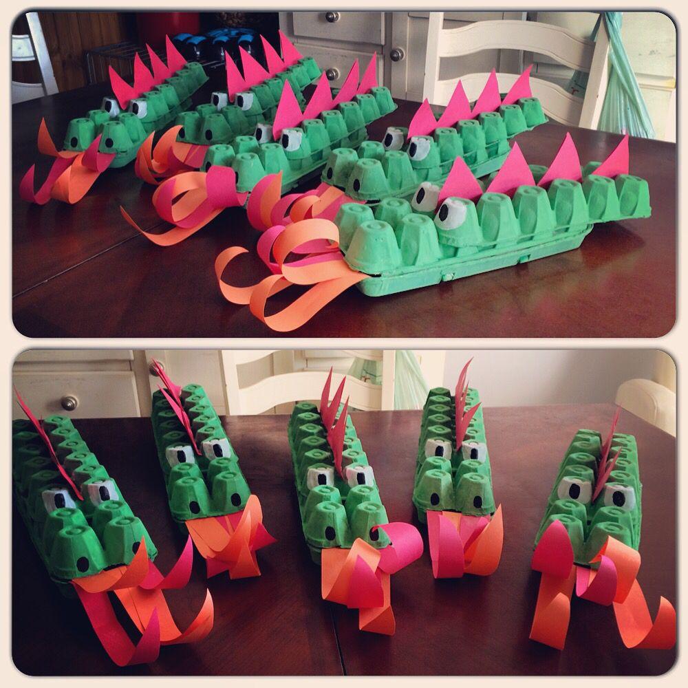 Dragon bricolage activit enfant th me m di val bricolage enfant et chevalier dragon - Bricolage maternelle ...