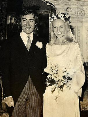 aidan cuthbert and his bride lady victoria percy 1975 1