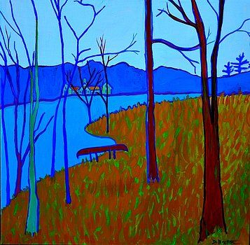 Greenough Pond View by Debra Bretton Robinson