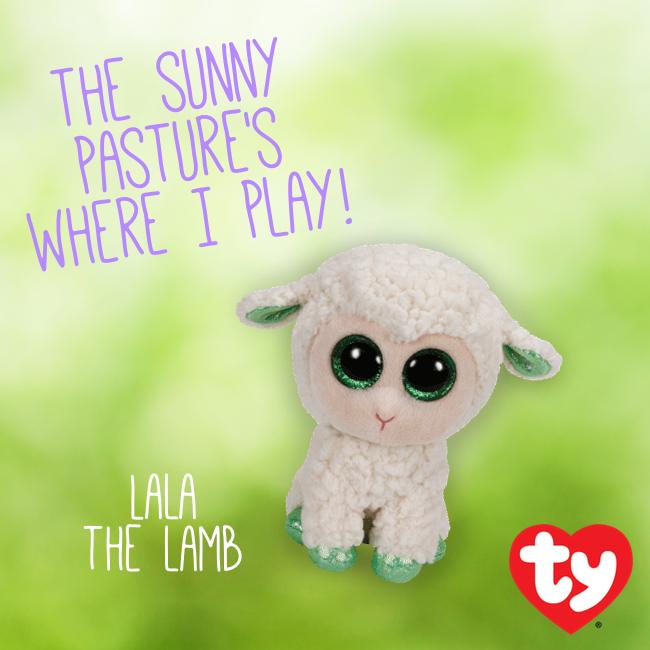Lala the Lamb Beanie Boo!  73ea27d3893