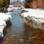 Song of March - Colorado Lake Landscape Painting | Jay Moore Artist | Jay Moore Studio