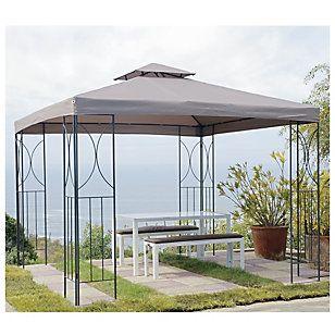 P Rgola Metal 300x300 Cm Tabaco Arquitectura Que Me Gusta