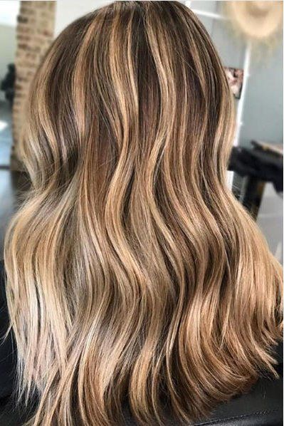 Beachy Highlights That Make Every Hair Color Look Perfectly Sunkissed Hair Color Balayage Hair Styles Brown Hair Balayage