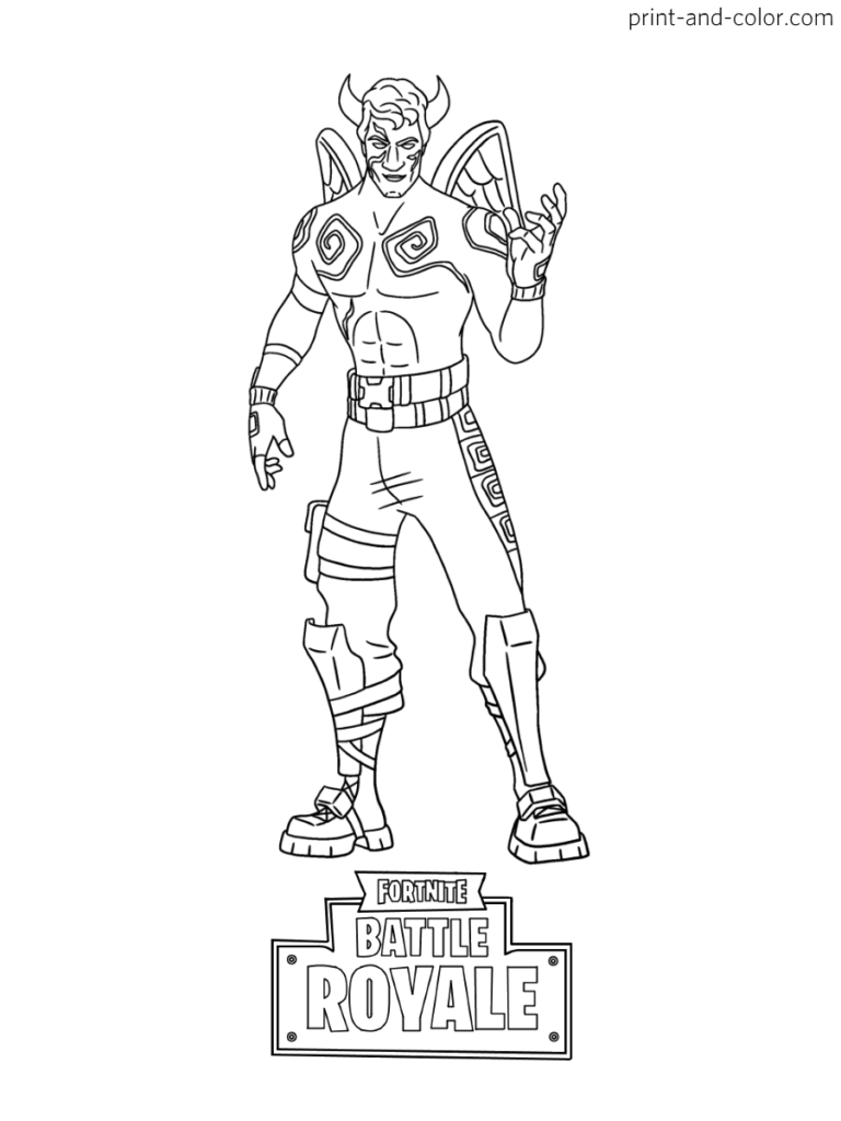 Fortnite Coloring Pages Print And Color Com Coloring