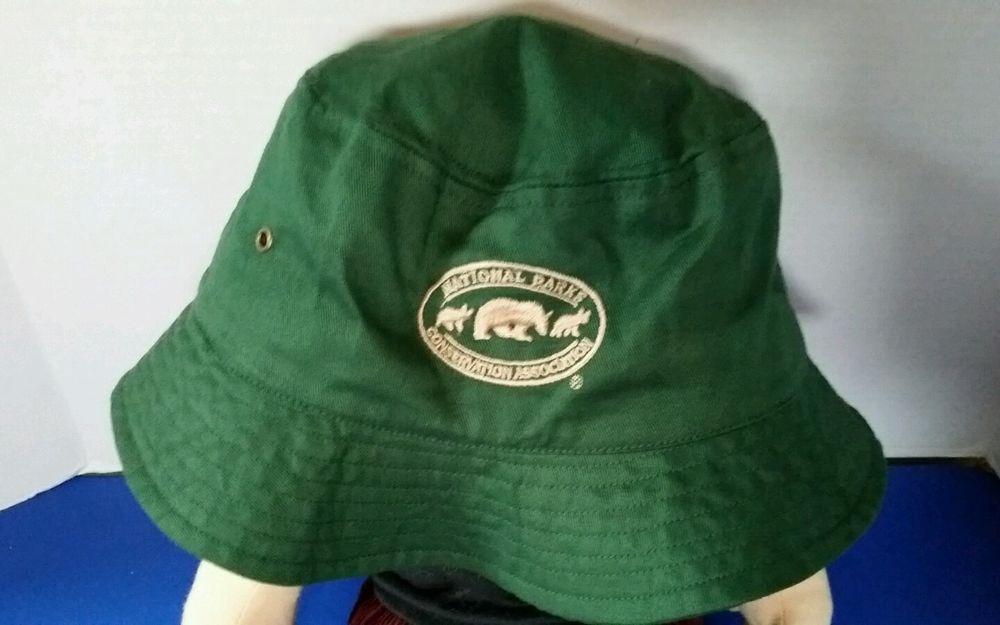 #Hat #NationalParksConservation Association Green Bucket #Floppy Wide Rim #Bucket
