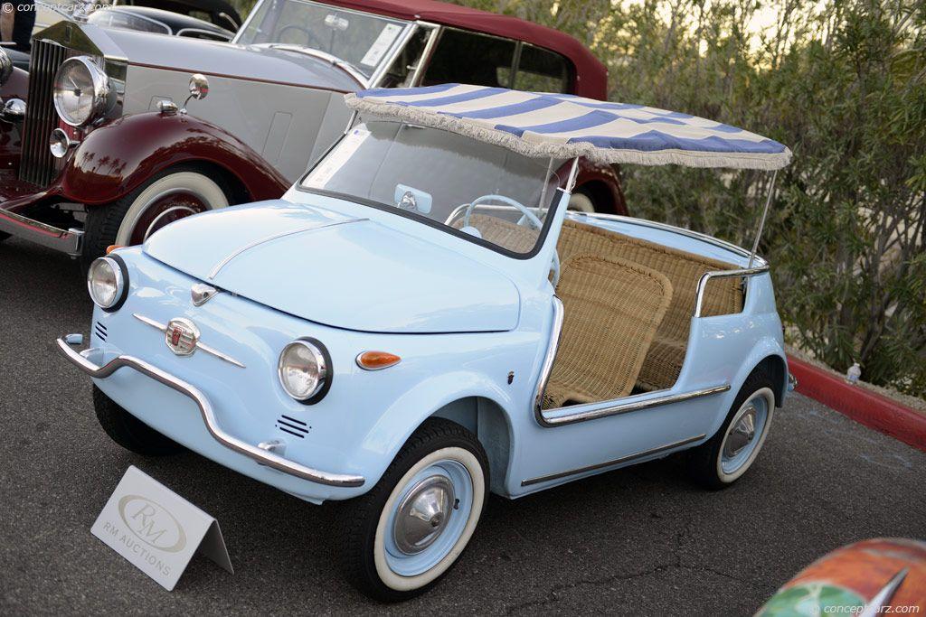 1958 Fiat 500 Jolly Wheels Fiat Fiat 500 Fiat Cars