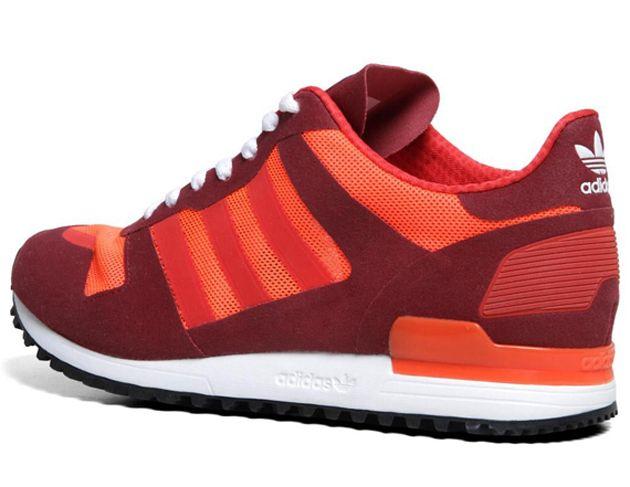 adidas Originals ZX 700   Cardinal / Vivid Red