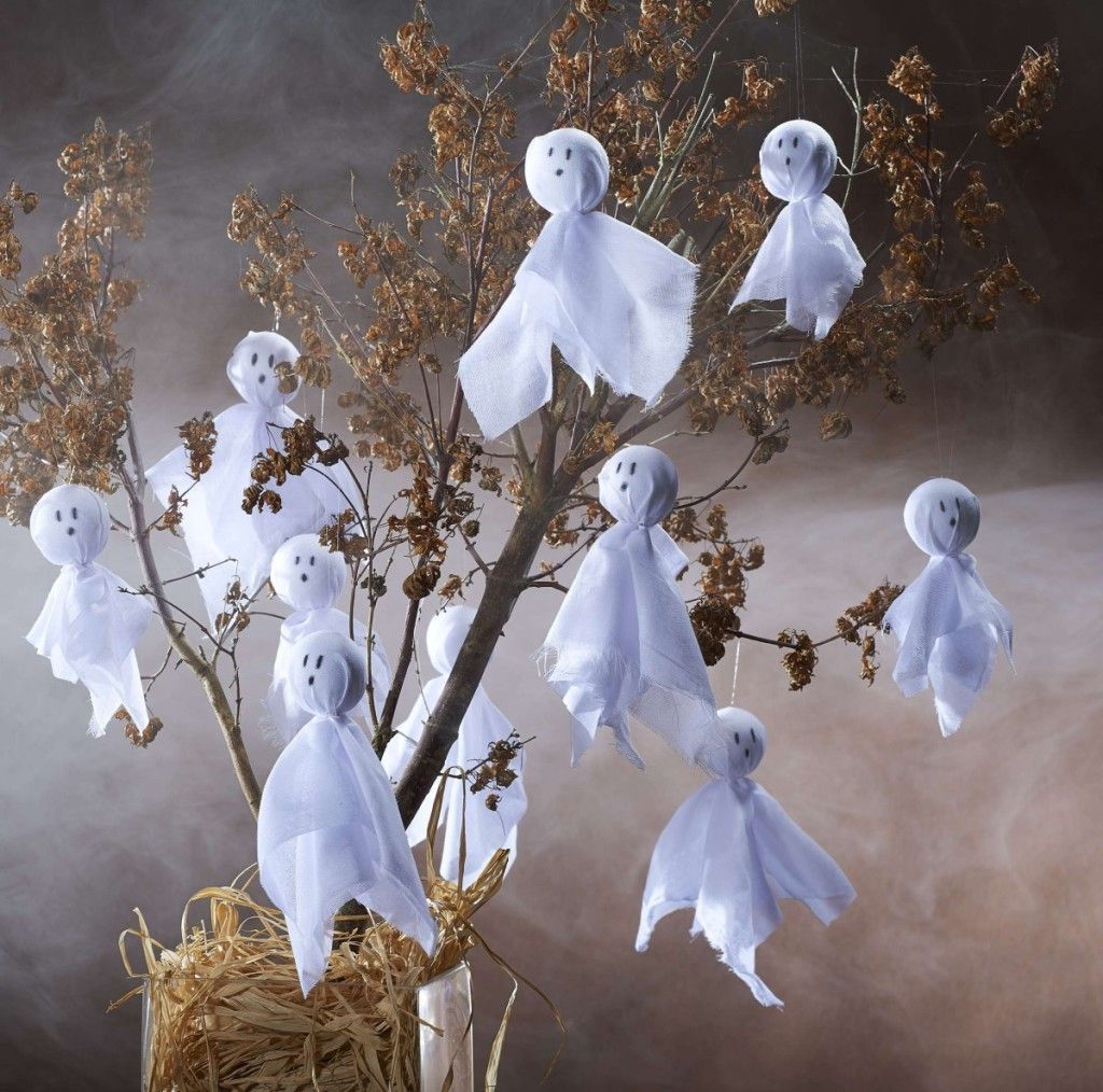 How to Make a Spooky Ghost Tree Halloween ghost