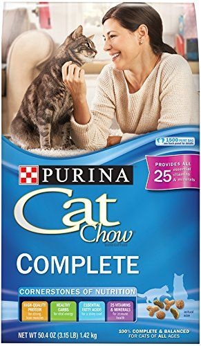 Purina Cat Chow Dry Cat Food Complete 315 Pound Bag Amazon