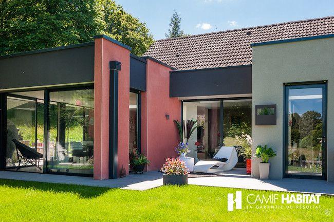 Extension de maison en Ardennes    wwwcamif-habitatfr projet
