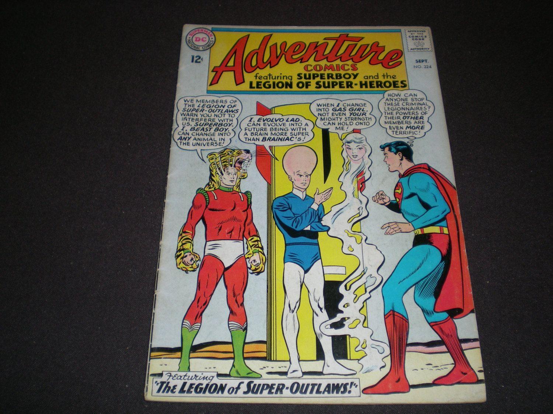 Adventure Comics 324, (1964), Superboy, DC Comics by HeroesRealm on Etsy