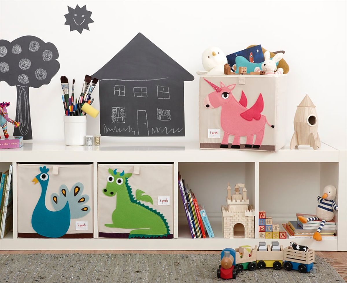 3 Sprouts Storage Boxes   Perfect For IKEA Expedit Or IKEA Kallax! Http:/