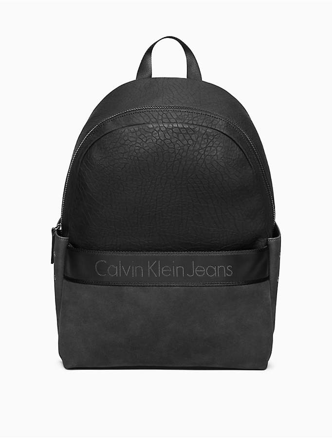 9c6fd6ec89 Calvin Klein Pebble Medium Campus Backpack   school backpacks in ...