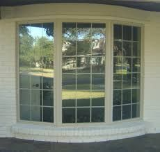 Alside Excalibur Vinyl Window Reviews And Pictures This Was Six Lite Bow Unit Converted Three Bay Type Bow Window Bay Window Vinyl Replacement Windows