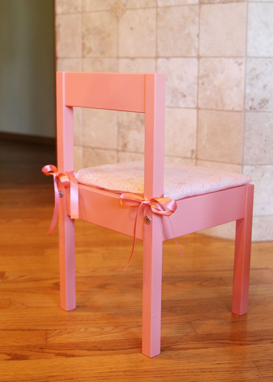 Diy Ikea Latt Children S Seat Cushion Sillas Pintadas Muebles Ninos Habitaciones Infantiles