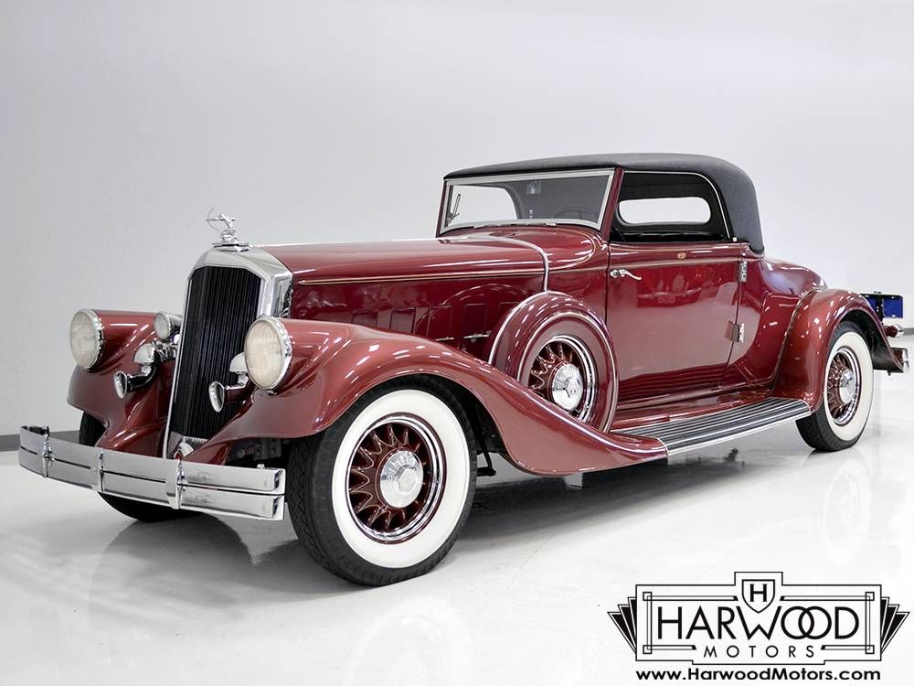 1933 Pierce Arrow 836 Rumble Seat Coupe For Sale 1878445