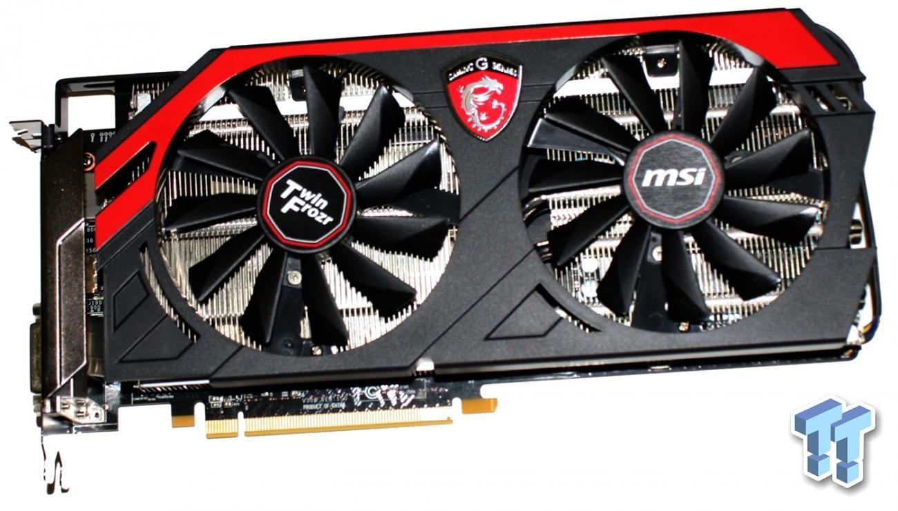Msi Radeon R9 290x Twin Frozr Gaming Oc Overclocked Video Card Geforce Gtx 750 Ti 2gb Review