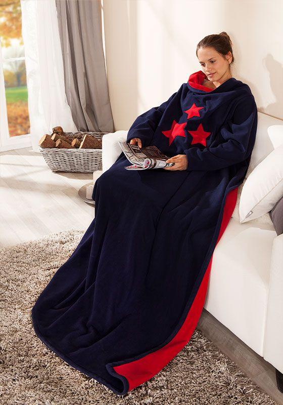 DIY - kostenlose Nähanleitung - Lesedecke_Herbst | Sewing for Woman ...