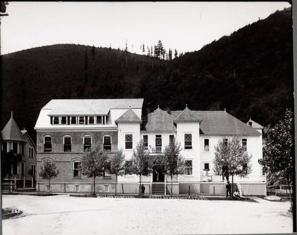 Wallace Idaho Hospital If I Am Not Mistaken This Is Now The Brooks Hotel Where We Stay When Ping Through And Yes There Are Ghosts