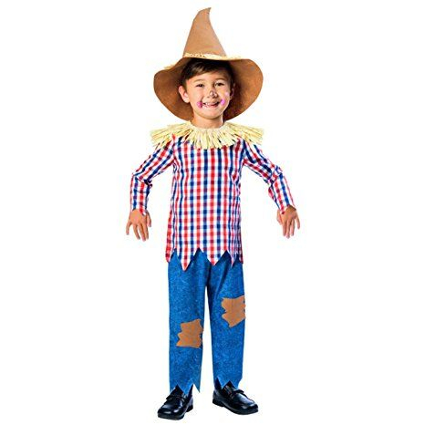 Child Scarecrow Costume 9-10yr Fasching, Karneval, Feiern - scarecrow halloween costume ideas