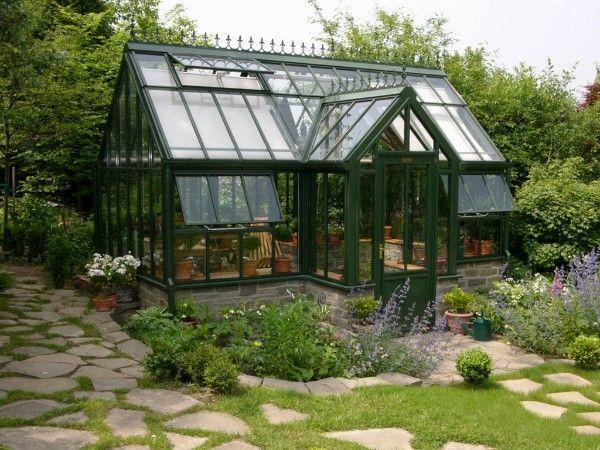 Englische gew chsh user viktorianische gew chsh user hartley botanic wintergarten garten - Englisches gartenhaus ...