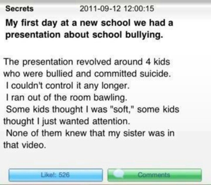 Sad Quotes About Bullying Tumblr: The Ending Really Hit Me. It's So Sad. I'm Really Crying