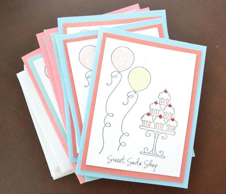 Handmade Birthday Invitation Card Design