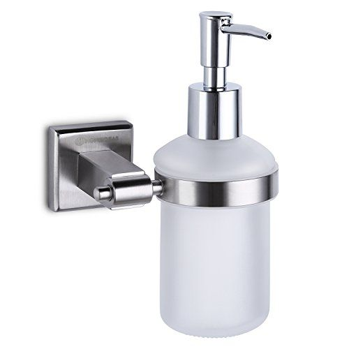 Homeideas 7Oz Wall Mounted Kitchen Sink Soap Dispenser Abs Pump Captivating Kitchen Sink Soap Dispenser Design Decoration