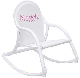 Hoohobbers Childu0027s Rocking Chair with White Mesh Seat  For That Occasion  sc 1 st  Pinterest & Hoohobbers Childu0027s Rocking Chair with White Mesh Seat :: For That ...