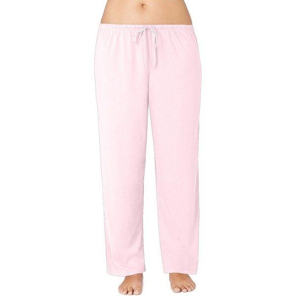 Plus Size Jockey Pajamas Modern Cotton Pajama Pants 23 Liked On Polyvore Featuring Plus Size Wom Cotton Pajama Pants Pajama Pants Womens Cotton Sleepwear