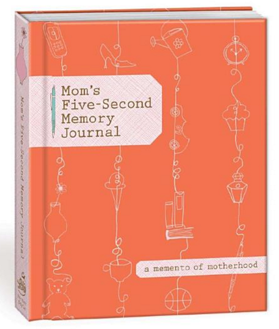 Mom's Five-Second Memory Journal: A Memento of Motherhood