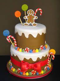 #amazingcakes#cakes#christmascakes#gingerbreadmanchristmascakes. gingerbread Christmas cake - Google Search