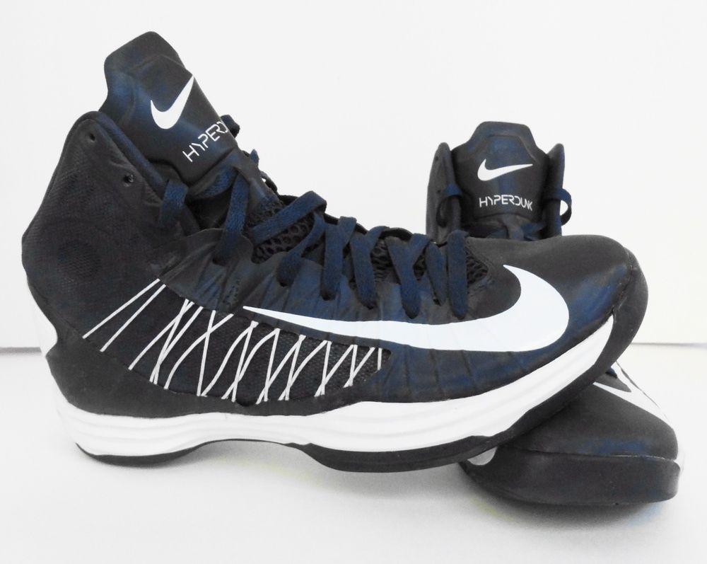 4cc5e14f255 NIKE Hyperdunk Basketball Shoes - Men s Size 10.5 - Navy Blue   White - EUC  (eBay Link)