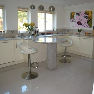 High Gloss Cream Kitchen Floor Tiles | http://caiuk.org | Pinterest ...