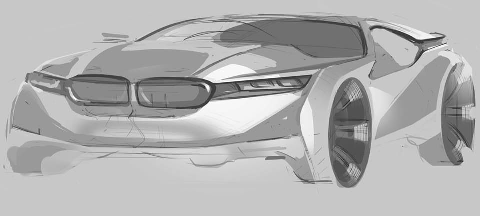 Pin on TRANSPORTATION • SKETCHES | Pinterest | Sketches, Car sketch ...