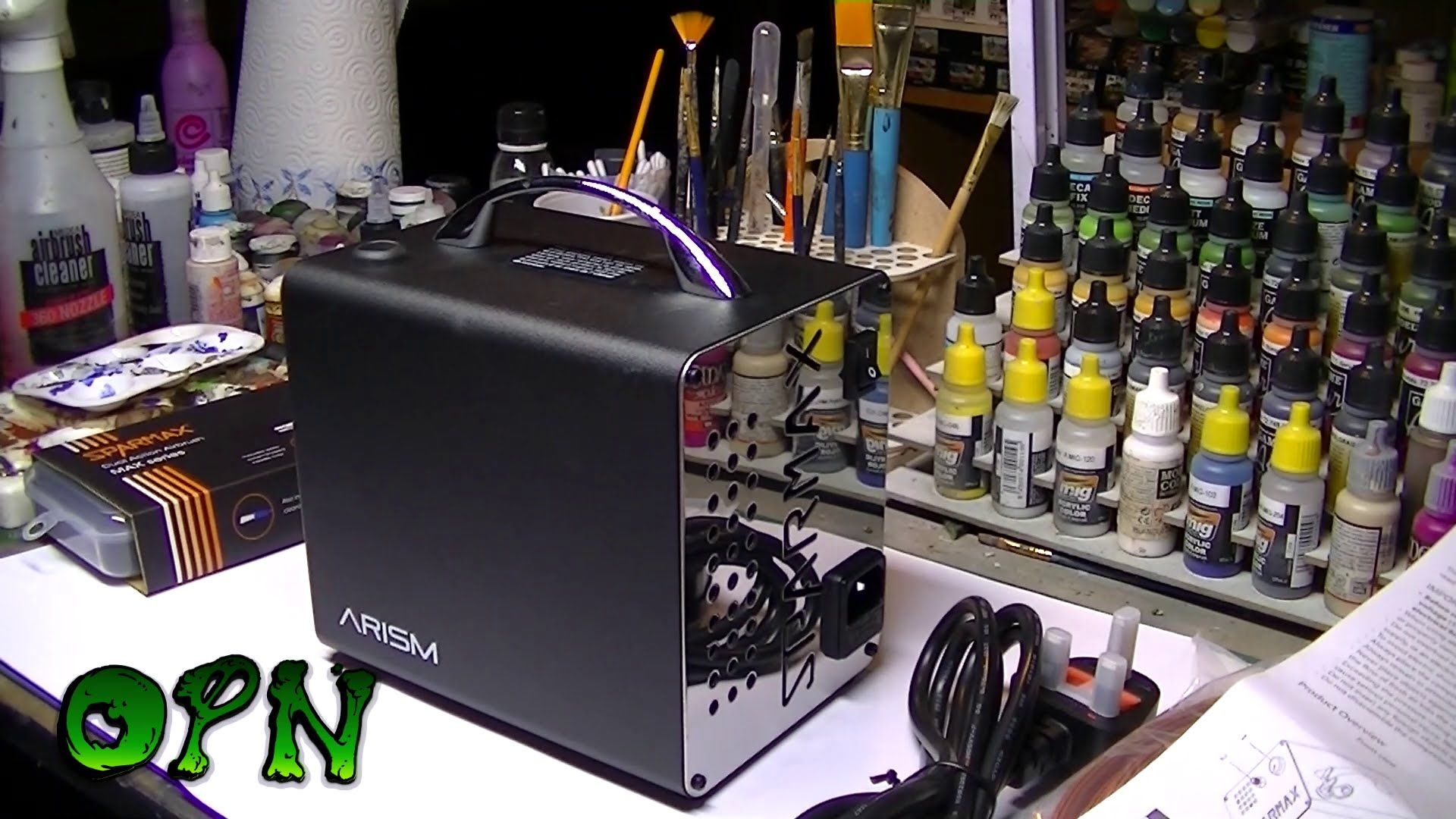 Sparmax Arism compressor and max 4 airbrush review