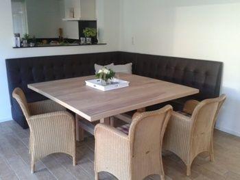 eethoek_wandbank - Foto\'s | Pinterest - Eethoek, Huis interieur en ...