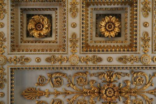 Roman Churches as Baroque Inspiration (ceiling detail) -- San Paolo Fuori Le Mura