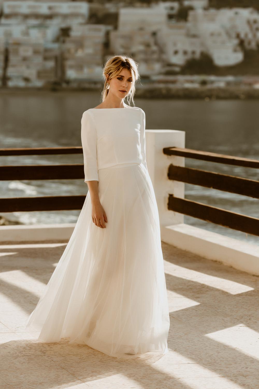 noni Kollektion 11: Brautkleider aus Tüll und mit moderner