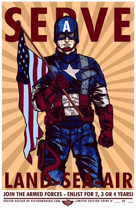 Ww2 propoganda posters captain america ww2 propaganda poster