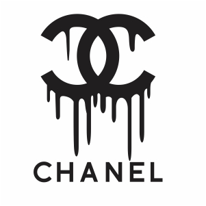 Chanel Dripping Logo Svg File Available For Instant Download Online In The Form Of Jpg Png Svg Cdr Ai Pdf Eps D In 2020 Vector Logo Logo Silhouette Chanel Print