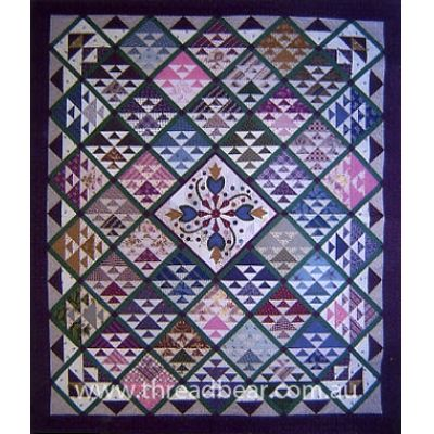 Pieces of the Past by Corless Searcey via Threadbear Patchwork ... : threadbear quilts - Adamdwight.com