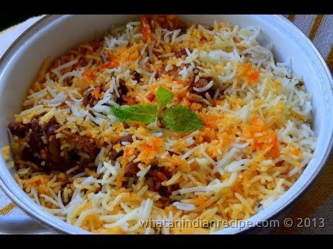 Hyderabadi mutton dum biryani recipe easy cook with food hyderabadi mutton dum biryani recipe easy cook with food junction youtube forumfinder Images