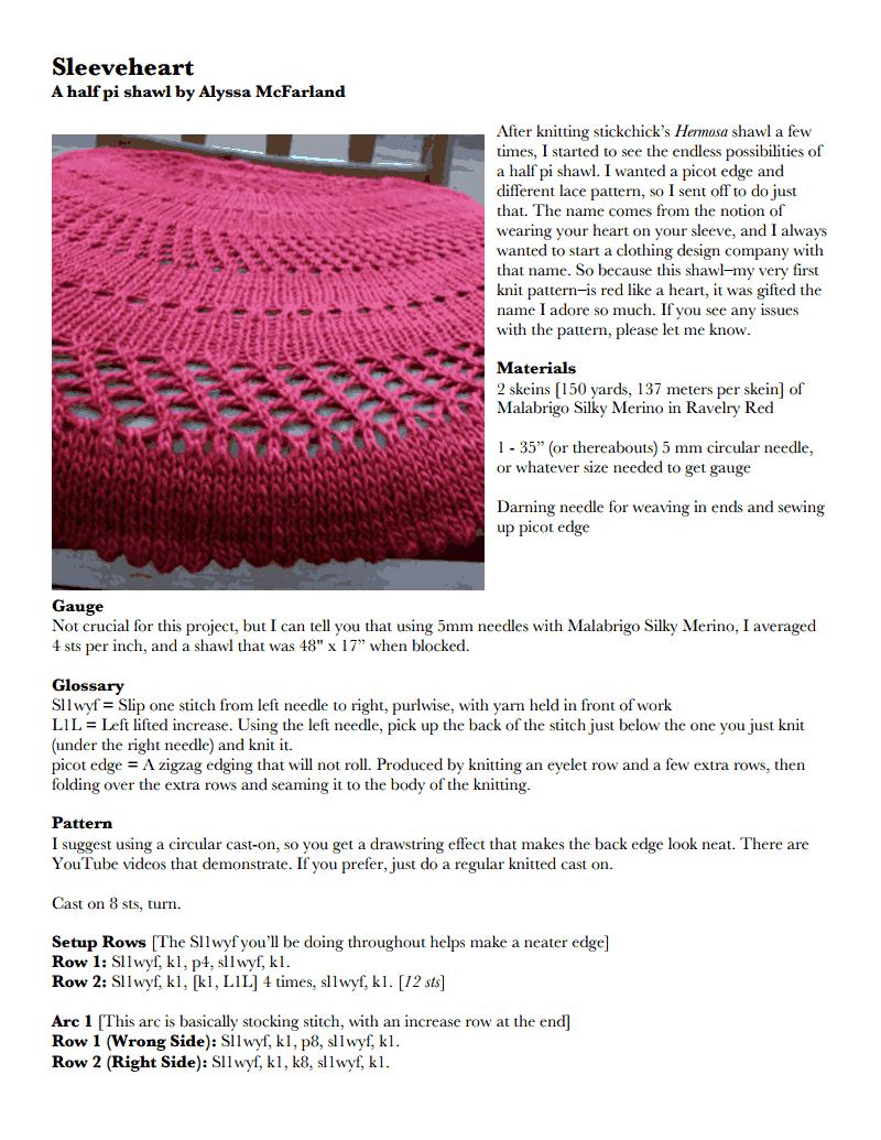 29 beste afbeeldingen van Pi shawl by Elizabeth Zimmerman - Patrones ...