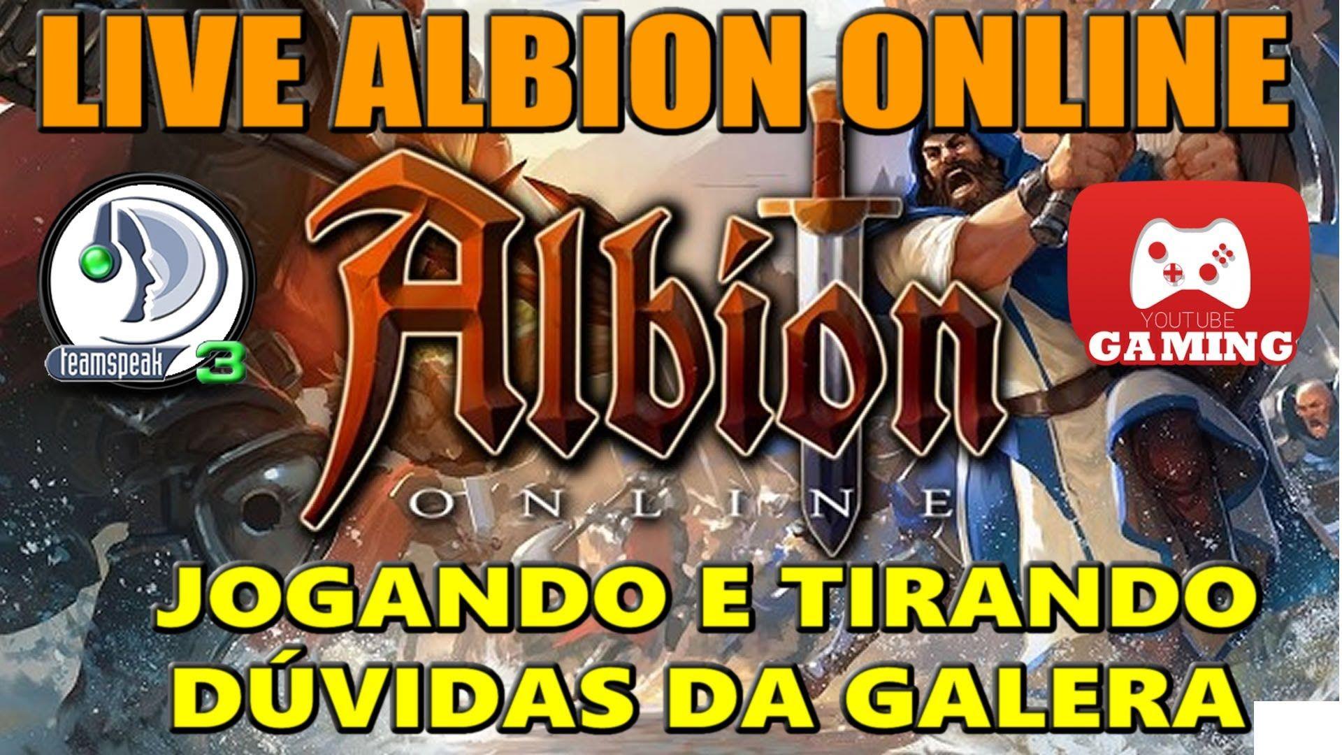 ALBION ONLINE GAMEPLAY - Tudo sobre sua ILHA PARTICULAR - AO VIVO | ALB.