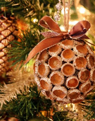 a natural christmas | handmade christmas crafts handmade christmas ornaments design blog ...