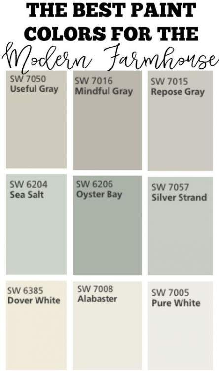 21+ ideas farmhouse style living room paint colors interiors for 2019 #indoorpaintcolors