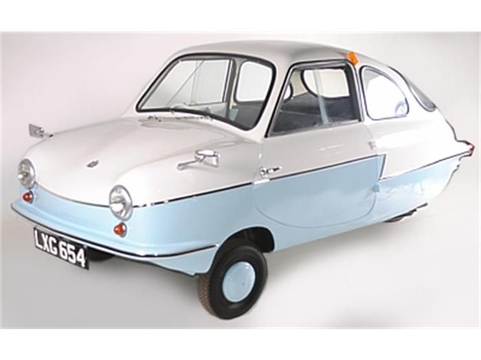 Fulda Nobel N200, three wheeler. 1960