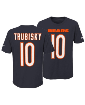 best loved cc1cf 7d08c Nike Mitchell Trubisky Chicago Bears Pride Name and Number ...