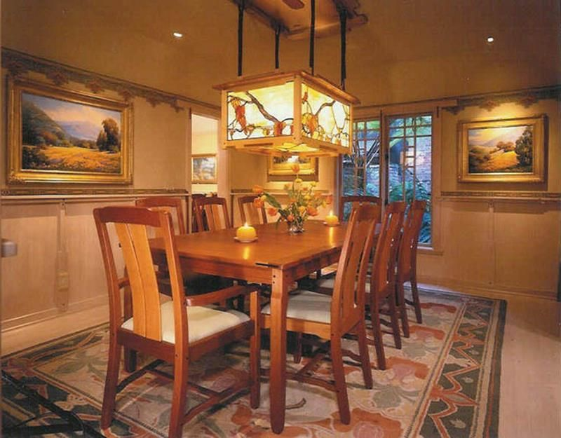 26 Charming Craftsman Dining Room Lighting Design  Craftsman Glamorous Craftsman Dining Room Lighting Design Inspiration